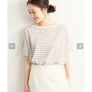 イエナ(IENA)のIENA テクノラマボートネック Tシャツ(Tシャツ(半袖/袖なし))