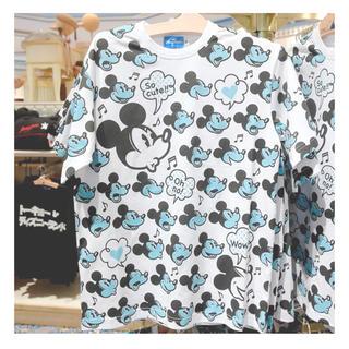 ディズニー(Disney)のTシャツ Disney ミッキー ペアルック カップル 夫婦(Tシャツ/カットソー(半袖/袖なし))