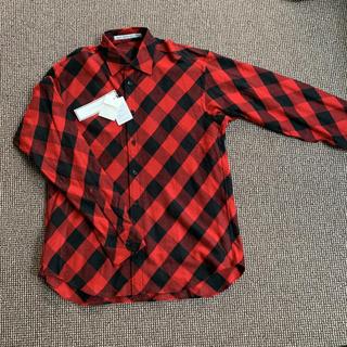 ジョンローレンスサリバン(JOHN LAWRENCE SULLIVAN)のジョンローレンスサリバン チェックシャツ ネルシャツ 完売品 新品未使用(シャツ)