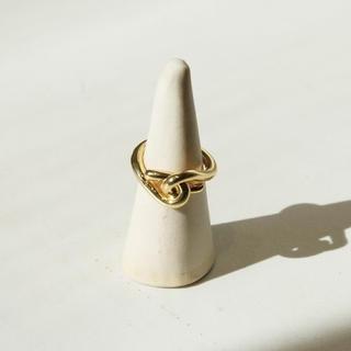 トゥデイフル(TODAYFUL)の【新品】TODAYFUL購入 Layered Cross Ring(リング(指輪))