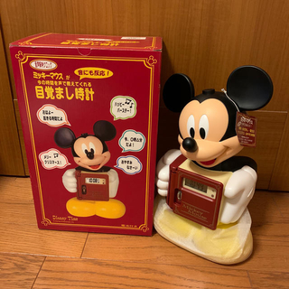 セイコー(SEIKO)のミッキー 目覚まし時計 ミッキー置き時計 ディズニー 時計(キャラクターグッズ)