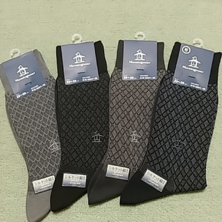 マンシングウェア(Munsingwear)の新品*マンシングウェア メンズソックス4足セット 紳士靴下(ソックス)