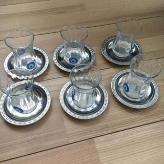 イデー(IDEE)のトルコ購入 チャイティーグラス(グラス/カップ)