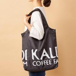 カルディ(KALDI)の【新品未使用】カルディ エコバッグ 黒(エコバッグ)