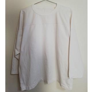 コモリ(COMOLI)のCOMOLI フットボールTシャツ(カットソー(長袖/七分))