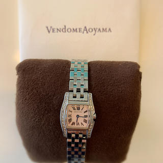 ヴァンドームアオヤマ(Vendome Aoyama)の【キムマサ様専用】ヴァンドーム青山 ダイヤモンド付 腕時計(腕時計)