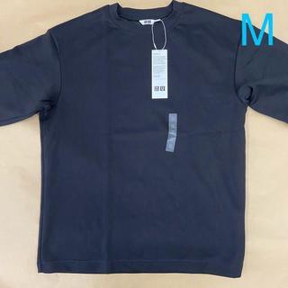 ユニクロ(UNIQLO)のエアリズムコットン M 【新品】(Tシャツ/カットソー(半袖/袖なし))