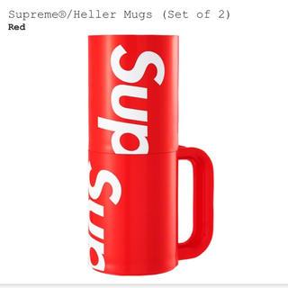 シュプリーム(Supreme)のsupreme Heller Mags Red (set of 2) マグカップ(その他)
