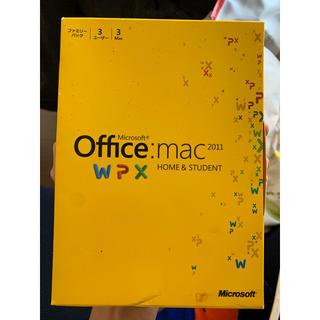 マック(MAC)のOffice Mac 2011 (PC周辺機器)