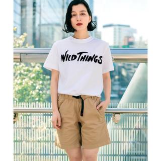 ワイルドシングス(WILDTHINGS)のWILDTHINGS ワイルドシングス ロゴ 半袖Tシャツ(Tシャツ/カットソー(半袖/袖なし))