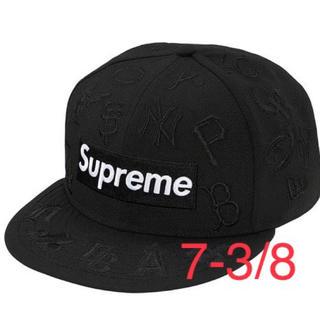 シュプリーム(Supreme)のSupreme MLB New Era 20ss 黒(キャップ)