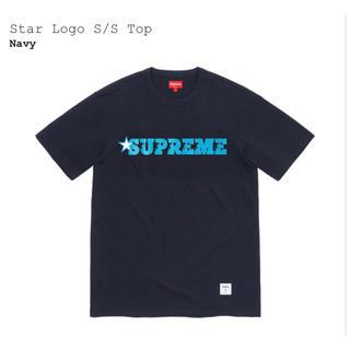 シュプリーム(Supreme)の4/30まで出品 Supreme Star logo Tシャツ ネイビー XL (Tシャツ/カットソー(半袖/袖なし))