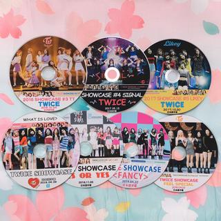 ウェストトゥワイス(Waste(twice))のTWICE💛 TWICE SHOWCASE 7枚組(ミュージック)