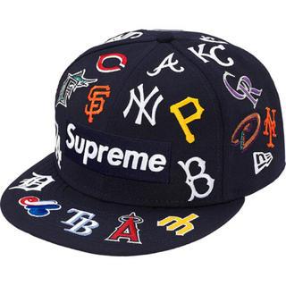 シュプリーム(Supreme)の新品 SUPREME MLB NEW ERA 20ss Navy 7-1/2(キャップ)