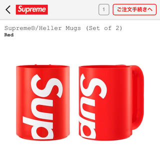 シュプリーム(Supreme)のシュプリーム  mug 赤(その他)