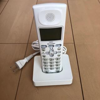 シャープ(SHARP)のコードレス 電話 シャープ SHARP(電話台/ファックス台)