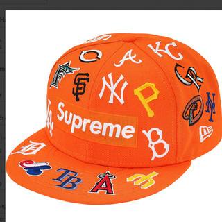 シュプリーム(Supreme)の Supreme®/MLB New Era® Orange 7-1/4(キャップ)