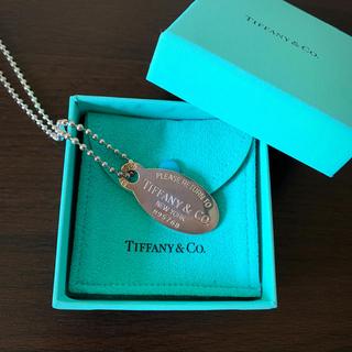 ティファニー(Tiffany & Co.)の《ティファニー》オーバルタグネックレス(ネックレス)