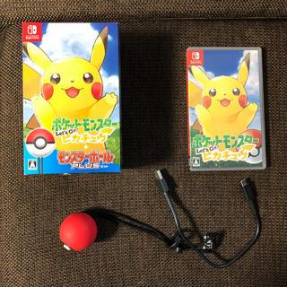 ニンテンドースイッチ(Nintendo Switch)のポケットモンスター Let's Go! ピカチュウ モンスターボール Plusセ(家庭用ゲームソフト)