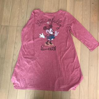 ディズニー(Disney)のミニー チュニック カットソー M(チュニック)