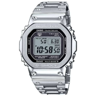 ジーショック(G-SHOCK)の【新品未使用】G-SHOCK GMW-B5000D-1JF フルメタルシルバー(腕時計(デジタル))