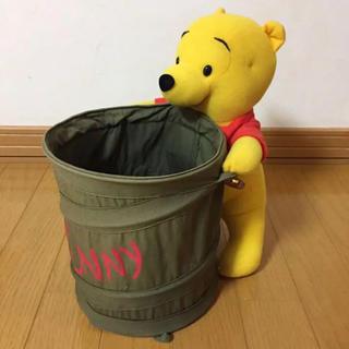 ディズニー(Disney)のくまのプーさん 小物入れ バスケット かご 人形(バスケット/かご)