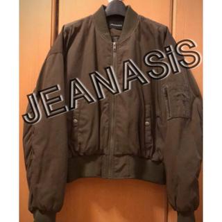 ジーナシス(JEANASIS)のMA-1(ブルゾン)