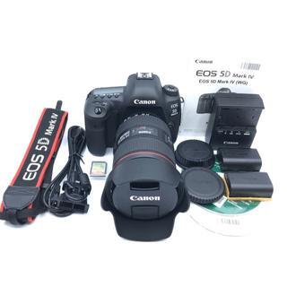 キヤノン(Canon)のCanon EOS 5D Mark Ⅳ 24-105mm 純正キット おまけ多数(デジタル一眼)