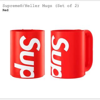 シュプリーム(Supreme)のSupreme heller mags red マグカップ(グラス/カップ)