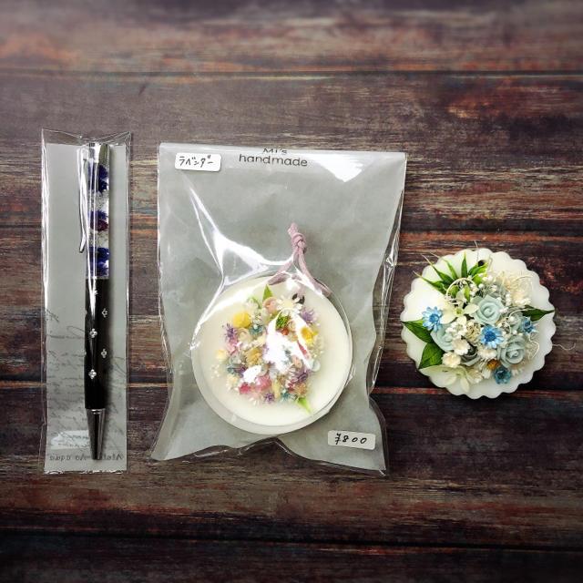 O様 アロマワックスバー・ピアス他 ハンドメイドのインテリア/家具(アロマ/キャンドル)の商品写真
