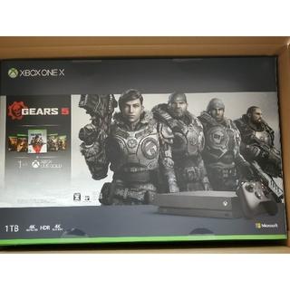 エックスボックス(Xbox)のMicrosoft Xbox One X GEARS 5 同梱版(家庭用ゲーム機本体)