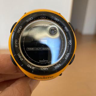 スント(SUUNTO)のSUUNTO VECTOR スント ベクター イエロー(腕時計(デジタル))