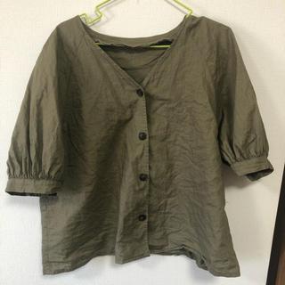 ジーユー(GU)のGUトップス XL(カットソー(半袖/袖なし))