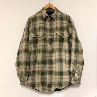 Puritan(USA)キルティングラインドフランネルシャツジャケット(カバーオール)