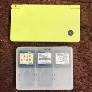 ニンテンドーDS(ニンテンドーDS)の値下げ★任天堂DS&ソフト3本セット(家庭用ゲーム機本体)
