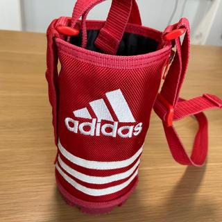 アディダス(adidas)のadidas アディダス 水筒カバー ポーチ ボトルケースのみ 1L 赤 レッド(水筒)