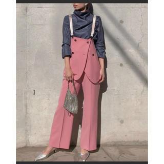 アメリヴィンテージ(Ameri VINTAGE)のameri vintage☆ MARLENE SET UP PANTS(カジュアルパンツ)