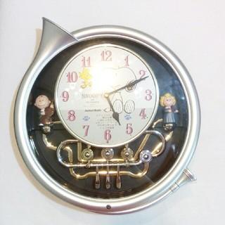 スヌーピー(SNOOPY)のスヌーピー掛け時計 ジャンク(掛時計/柱時計)