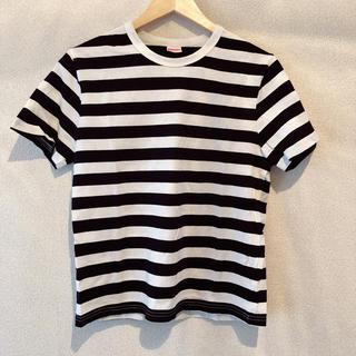 アハロバター(Ahalo Butter)のヘルスニット ボーダーTシャツ 未使用(Tシャツ(長袖/七分))