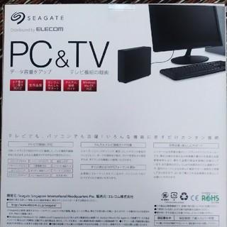 ELECOM - pc&TV外付けハードディスク