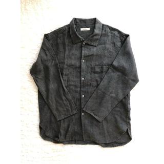 ネストローブ(nest Robe)のnest Robe CONFECT リネンハイネックシャツ(シャツ)