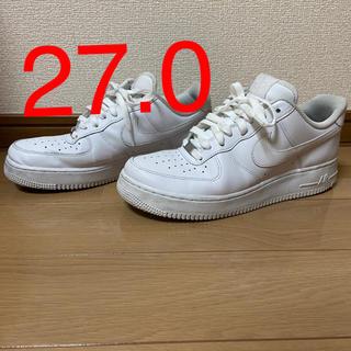 ナイキ(NIKE)の【27.0】NIKE AIR FORCE 1 07 エアフォース 1(スニーカー)