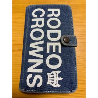 ロデオクラウンズワイドボウル(RODEO CROWNS WIDE BOWL)のロデオクラウンズ モバイルケース(iPhoneケース)