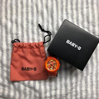 ベビージー(Baby-G)のBABY-G(オレンジ)(腕時計)