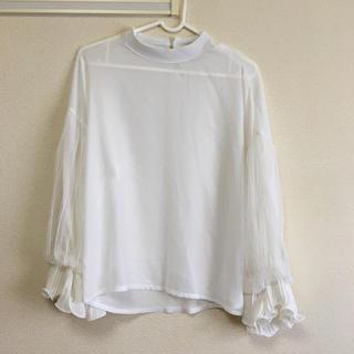 フィフス(fifth)のfifthホワイトシャツ(シャツ/ブラウス(長袖/七分))