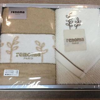 レノマ(RENOMA)のrenoma  フェイスタオル&ウォッシュタオル(タオル/バス用品)