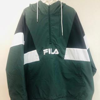 FILA - FILA ナイロン切替アノラック