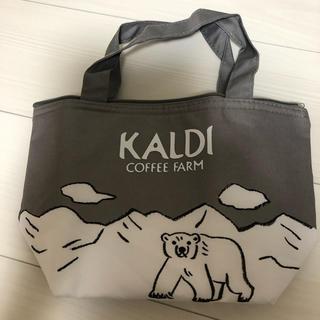 カルディ(KALDI)のKALDI×レタスクラブ オリジナルひんやり保冷バッグ 未使用(弁当用品)