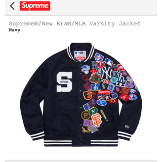 シュプリーム(Supreme)のSupreme®/New Era®/MLB Varsity Jacket (スタジャン)