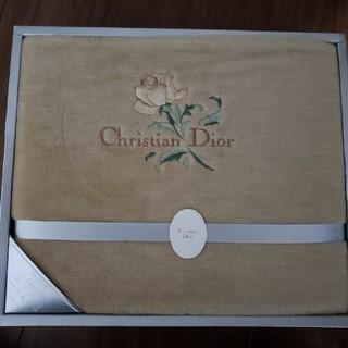 クリスチャンディオール(Christian Dior)のクリスチャンディオール ボアシーツ(シーツ/カバー)